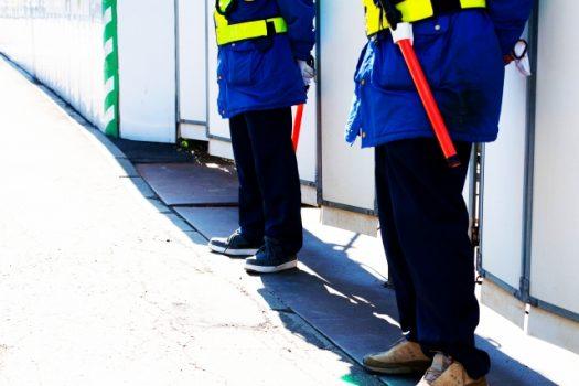 工場警備の業務